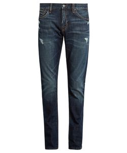 JEAN SHOP | Jim Distressed Skinny Jeans