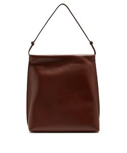 The Row | Wander Leather Shoulder Bag