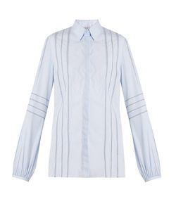 Gabriela Hearst | Abbey Jour-Échelle Cotton Blouse