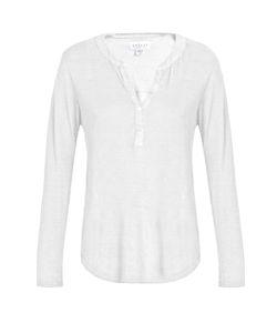 Velvet by Graham & Spencer | Elvira Linen-Blend T-Shirt