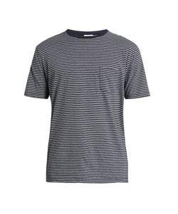 Sunspel | Striped Cotton-Jersey T-Shirt