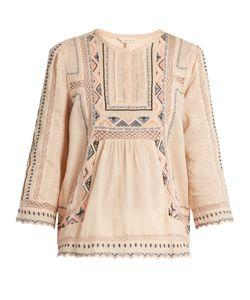Rebecca Taylor | Esme Embroidered Cotton Blouse