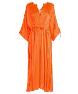 Maison Rabih Kayrouz | Tie-Waist Charmeuse Dress