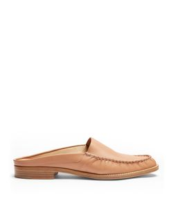 Gabriela Hearst   Kate Leather Backless Loafers
