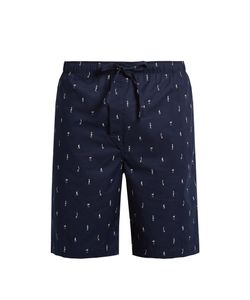 Derek Rose | Nelson Cotton Pyjama Shorts