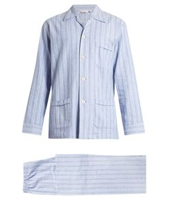 Derek Rose | Arran Brushed-Cotton Pyjama Set