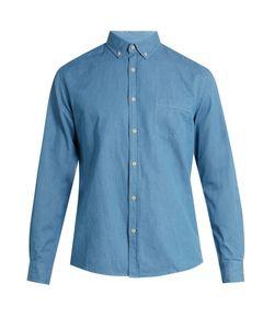 Sunspel | Cotton And Linen-Blend Chambray Shirt