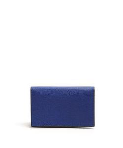 Valextra   Bi-Fold Leather Cardholder
