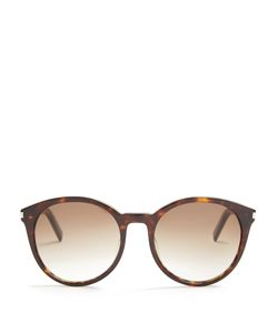 Saint Laurent | Classic Round-Frame Acetate Sunglasses