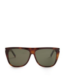 Saint Laurent | Flat-Top Acetate Sunglasses