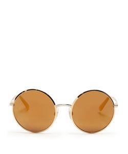 Dolce & Gabbana | Round Acetate Sunglasses