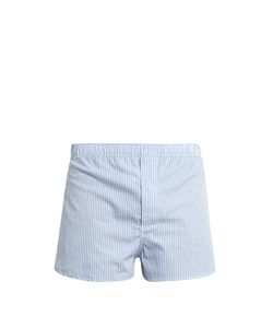 Derek Rose | Modern-Fit Cotton-Poplin Boxer Shorts