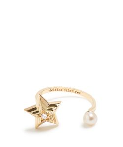 Delfina Delettrez | Diamond Pearl Yellowring