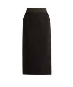 Dolce & Gabbana | Stretch Wool-Blend Pencil Skirt