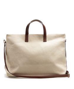FRESCOBOL CARIOCA | Linen-Canvas Weekend Bag