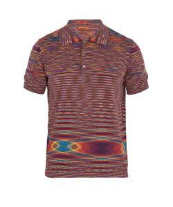 Missoni | Striped-Cotton Polo Shirt