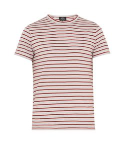 A.P.C. | Lane Striped Cotton-Jersey T-Shirt