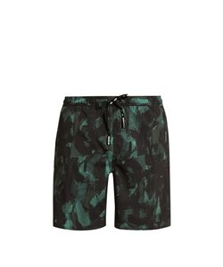 THE UPSIDE | Ultra Sketchy Camouflage-Print Training Shorts