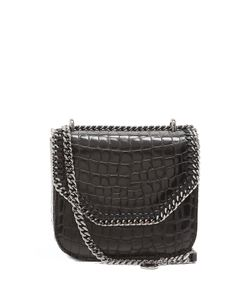 Stella Mccartney | Falabella Box Mini Crocodile-Effect Shoulder Bag