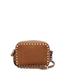 Valentino | Rockstud Camera And Suede Cross-Body Bag