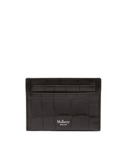 Mulberry | Crocodile-Effect Embossed-Leather Cardholder