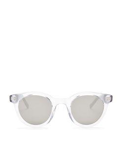 DIOR HOMME SUNGLASSES | Blacktie 218s Round-Frame Sunglasses