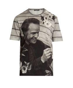 Dolce & Gabbana | Marlon Brando Cotton-Jersey T-Shirt