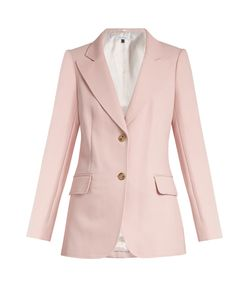 Bella Freud   Isaac Single-Breasted Cotton-Blend Jacket