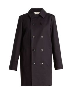 A.P.C. | Marine Double-Breasted Stretch-Cotton Coat