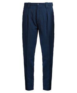 Etro | Tape Leg Linen-Blend Trousers