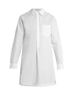 Adam Lippes | Point-Collar Cotton-Poplin Shirt