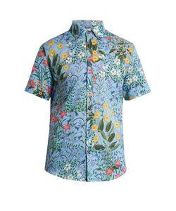 Gucci | -Print Cotton-Voile Shirt