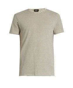 A.P.C. | Paul Stripe-Print Cotton T-Shirt