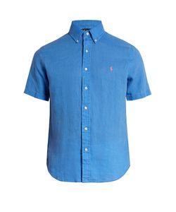 Polo Ralph Lauren   Short-Sleeved Linen Shirt