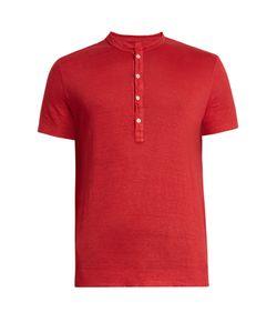 120% Lino | Henley Linen T-Shirt