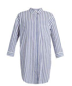 Velvet by Graham & Spencer | Ivy Striped Cotton Shirtdress