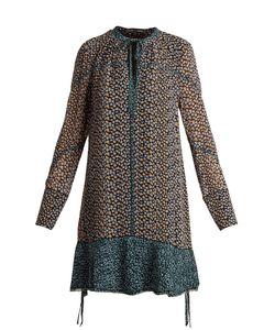Proenza Schouler   Mini Leopard-Print Silk-Crepe Dress