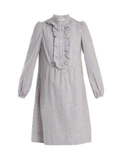 A.P.C. | Anita Striped Cotton Dress