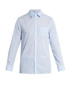 Adam Lippes | Spread-Collar Single-Cuff Cotton Shirt