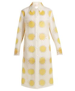 Christopher Kane | Sun-Print Frosted Rubberised Coat