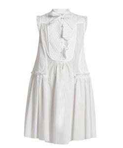 Moncler   Sleeveless Cotton-Poplin Dress