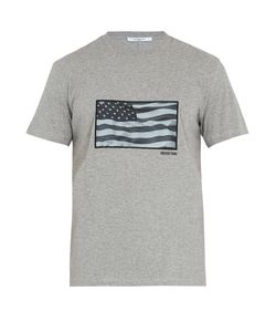 Givenchy | Cuban-Fit Usa Flag-Appliqué Cotton T-Shirt
