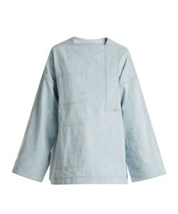 Acne | Beyon Oversized Denim Top