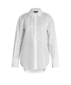 Calvin Klein Collection | Luka Point-Collar Cotton Shirt