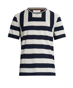 Paul Smith | Striped Cotton-Piqué T-Shirt