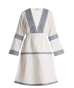DAFT | Istanbul Embroidered Cotton Dress