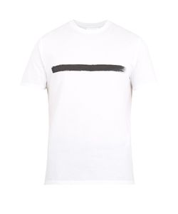 Neil Barrett | Paint-Stroke Print T-Shirt