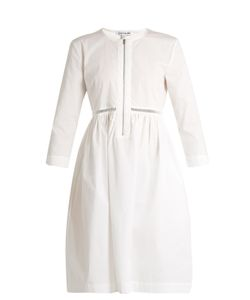 Elizabeth And James | Celeste Jour-Èchelle Cotton-Blend Poplin Dress