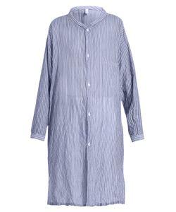 Y'S BY YOHJI YAMAMOTO   Striped Oversized Shirt