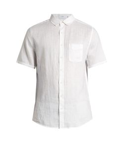 Onia | Jack Short-Sleeved Linen Shirt